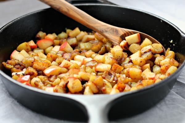 paleo recipes, paleo diet, Paleo Caramelized Potato Apple Hash
