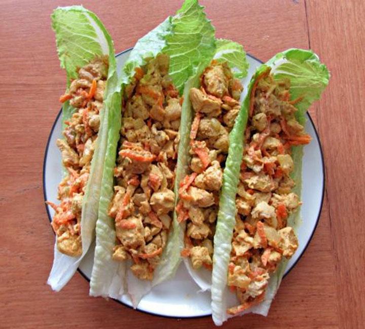 Curry Chicken Salad, Paleo diet, Paleo Recipes