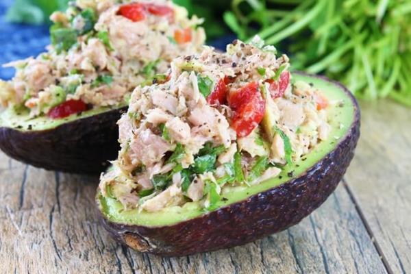 paleo diet, paleo recipes, Paleo Avocado Tuna Salad